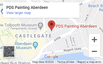 PDS Painting Aberdeen Map