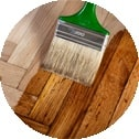 Wood varnish and staining service Gilcomston